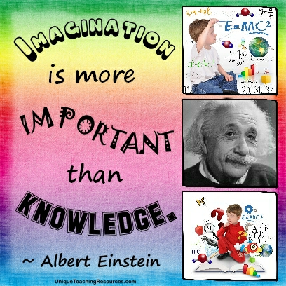 famous albert einstein quotes posters and  jpg imagination is more important than knowledge