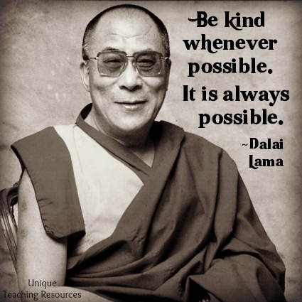 Quote Be Kind Whenever Possible Dalai Lama