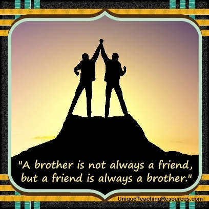 JPG A Brother Is Not Always Friend But