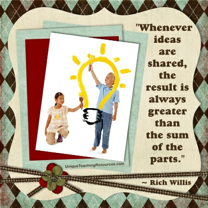 JPG Whenever Ideas Are Shared The Result Is Always Greater Than Sum Of Parts Rich Willis Quotes About Friendship